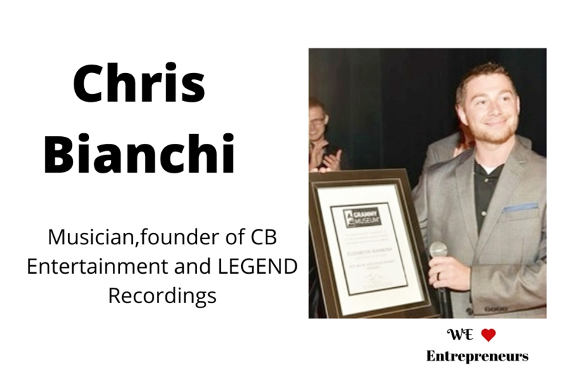Chris Bianchi - Musician, entrepreneur