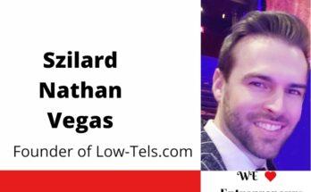 Interview with Szilard Nathan Vegas