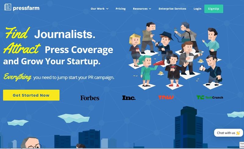 Pressfarm to Attract Press Coverage